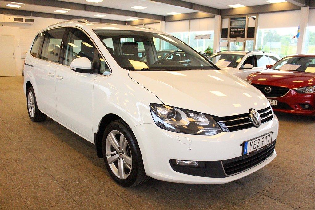Volkswagen Sharan 2.0 TDI  DSG Sekventiell Premium Euro 6 7-sits 150hk
