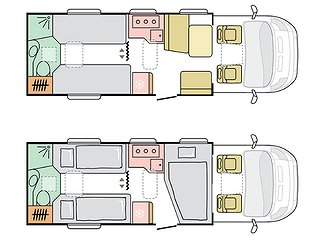 Husbil-halvintegrerad Adria Coral Plus 670 SLT 3 av 3