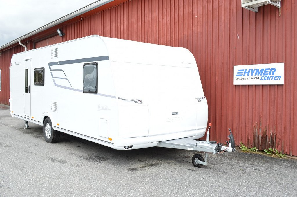 Eriba Hymer 560 Exciting, barnkammare