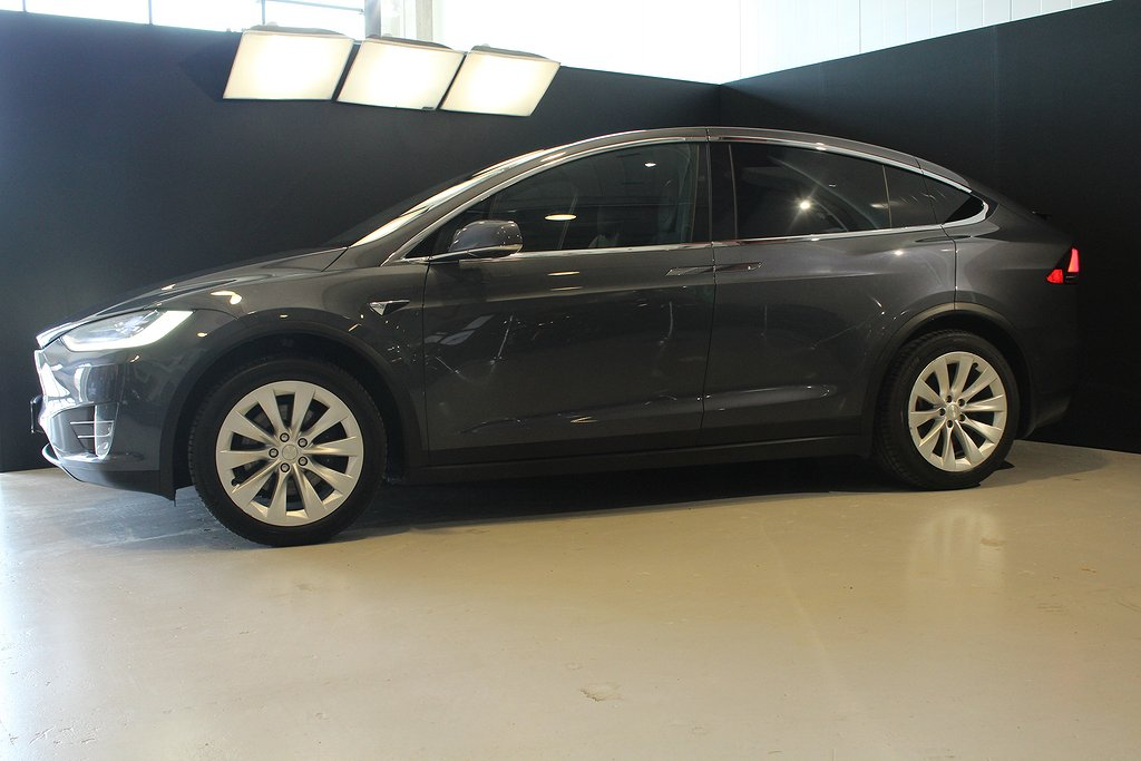 Tesla Model X 90D 423hk 6-sits / Drag