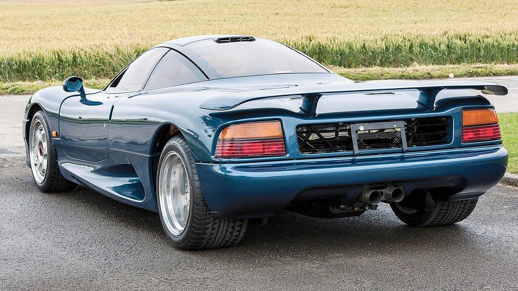 Jaguar XJR-15 var en superbil under radarn - Bytbil.com