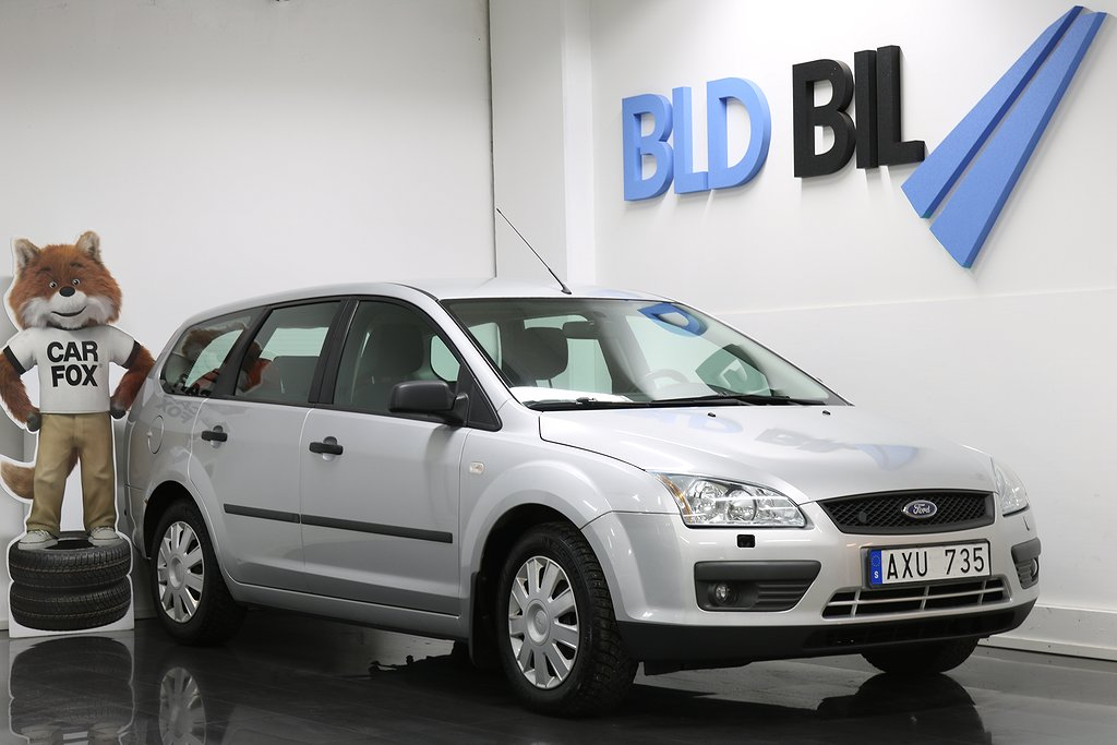 Ford Focus 1.8 NYBES M-VÄRMARE Flexifuel 125hk