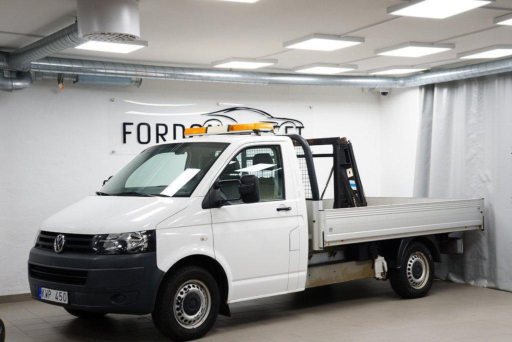 Volkswagen Transporter 2,0 TDI CHASSI/FLAK INL. KRAN
