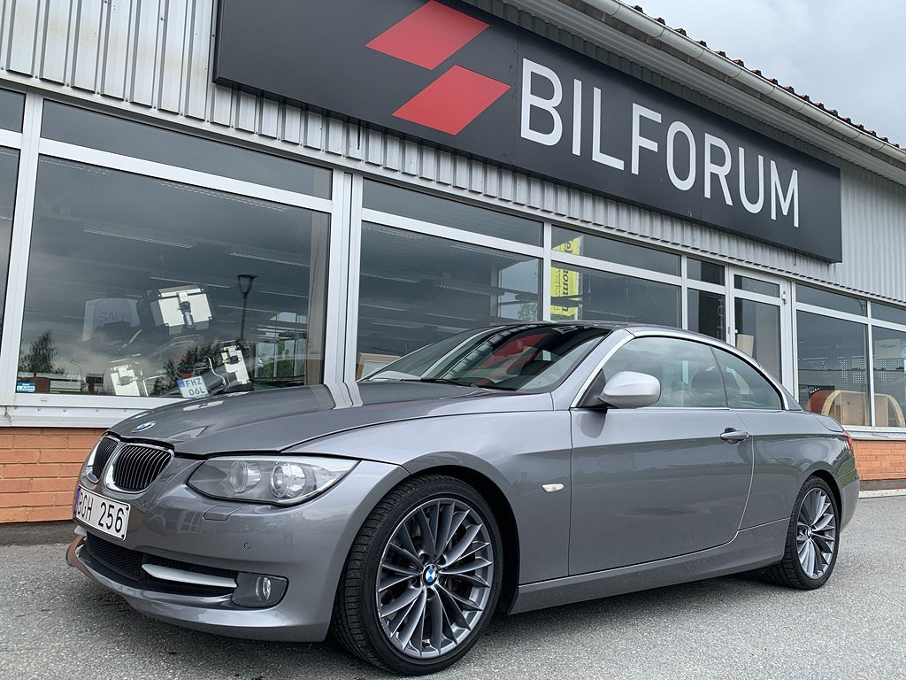 BMW 335 i Convertible DCT EDITION 306hk