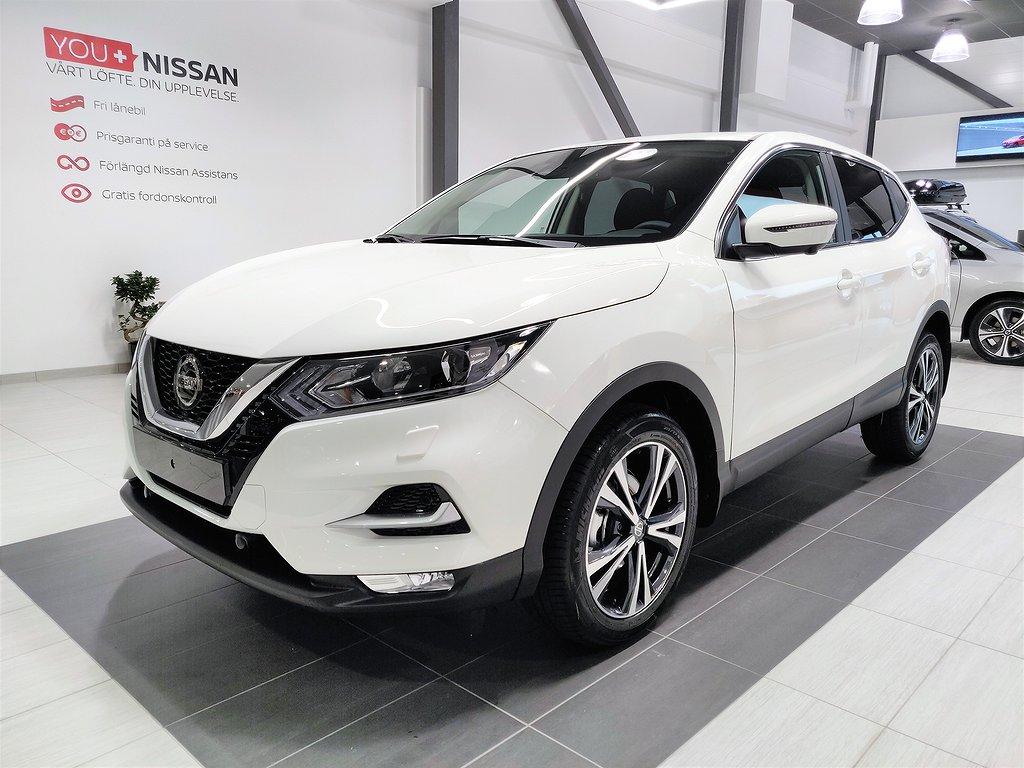 Nissan Qashqai N-CONNECTA 160 HK DCT FRIA VH & SERVICE