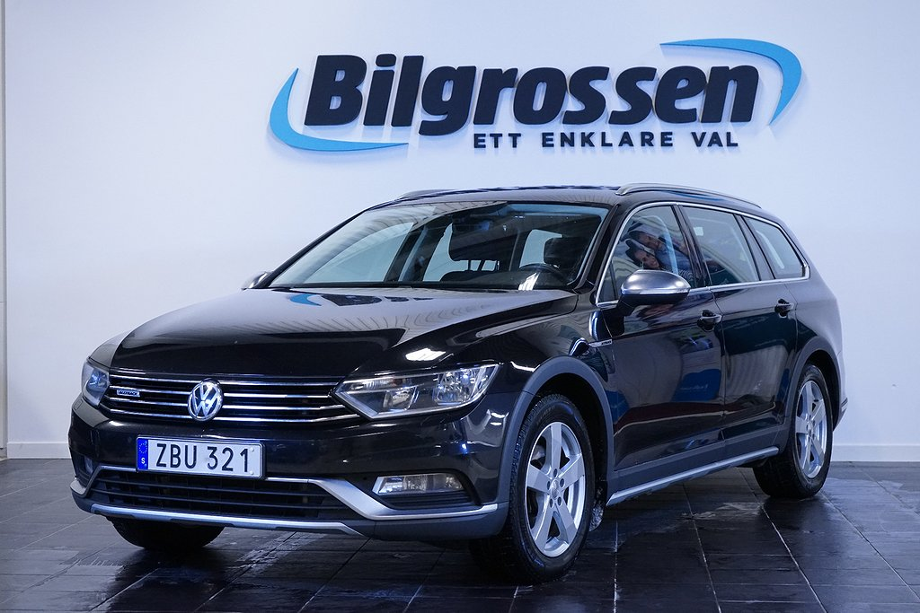 Volkswagen Passat Alltrack 2.0 TDI 4Motion 190hk Drag D-Värm