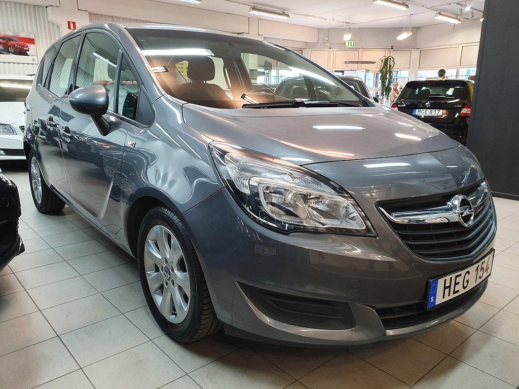 Opel Meriva 1.4 Turbo Automat Euro 6 120hk