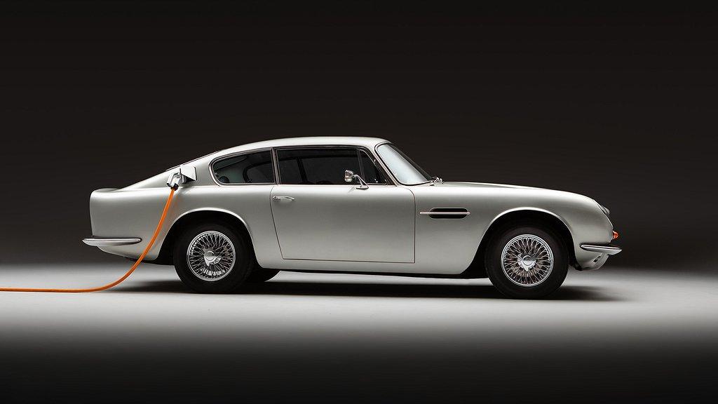 Batteridriven Aston Martin DB6.