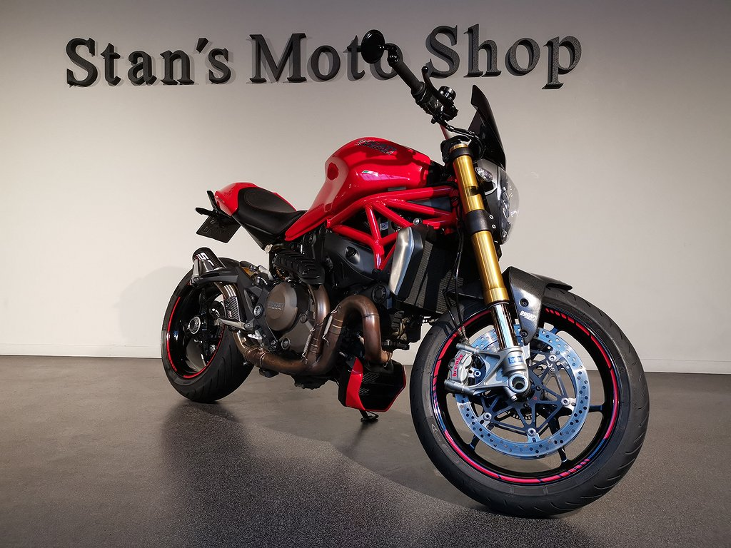 Ducati Monster 1200s ABS Sc Project