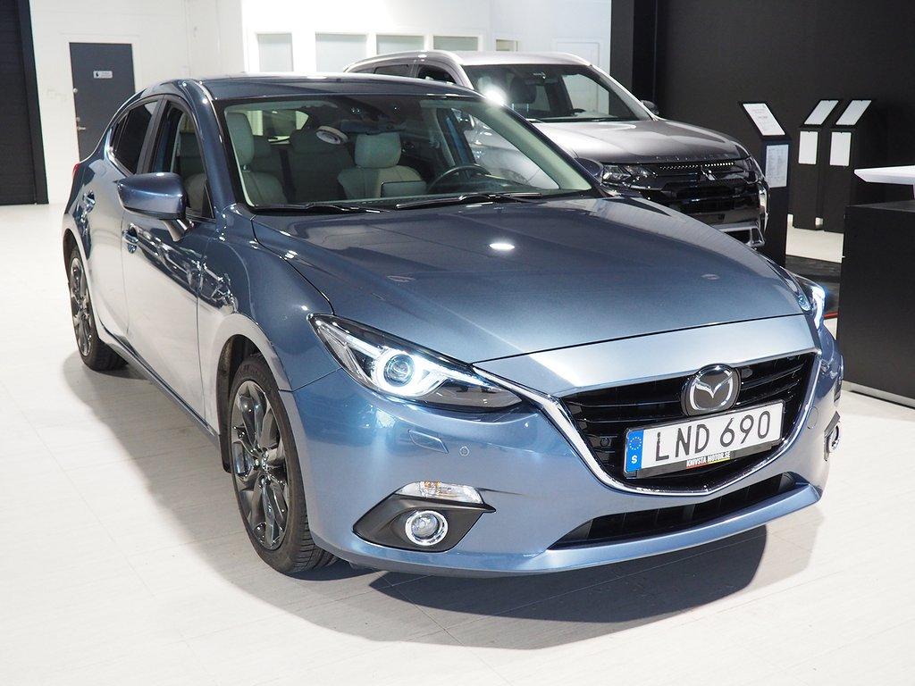 Mazda 3 Sport 2.0 Optimum 165hk Motorvärmare 2014