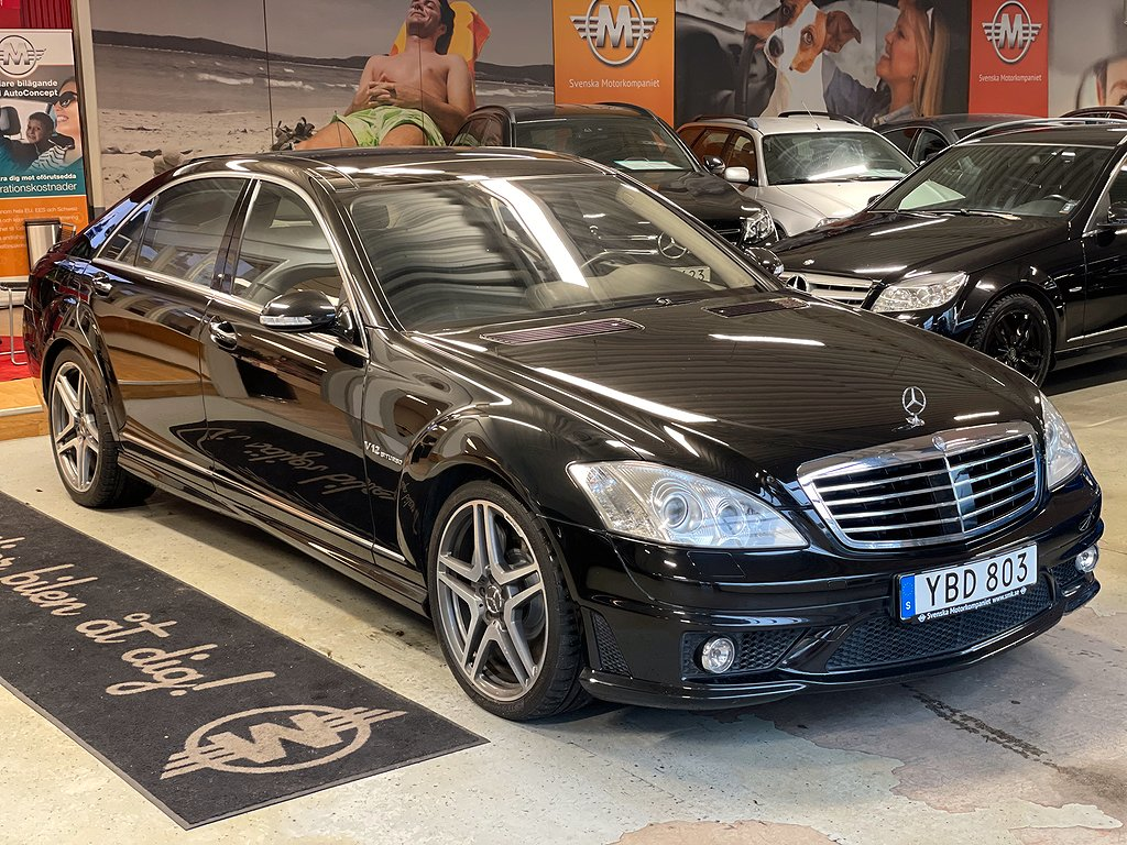 Mercedes-Benz S 65 AMG L 5G-Tronic AMG, Exclusive Leather 612hk
