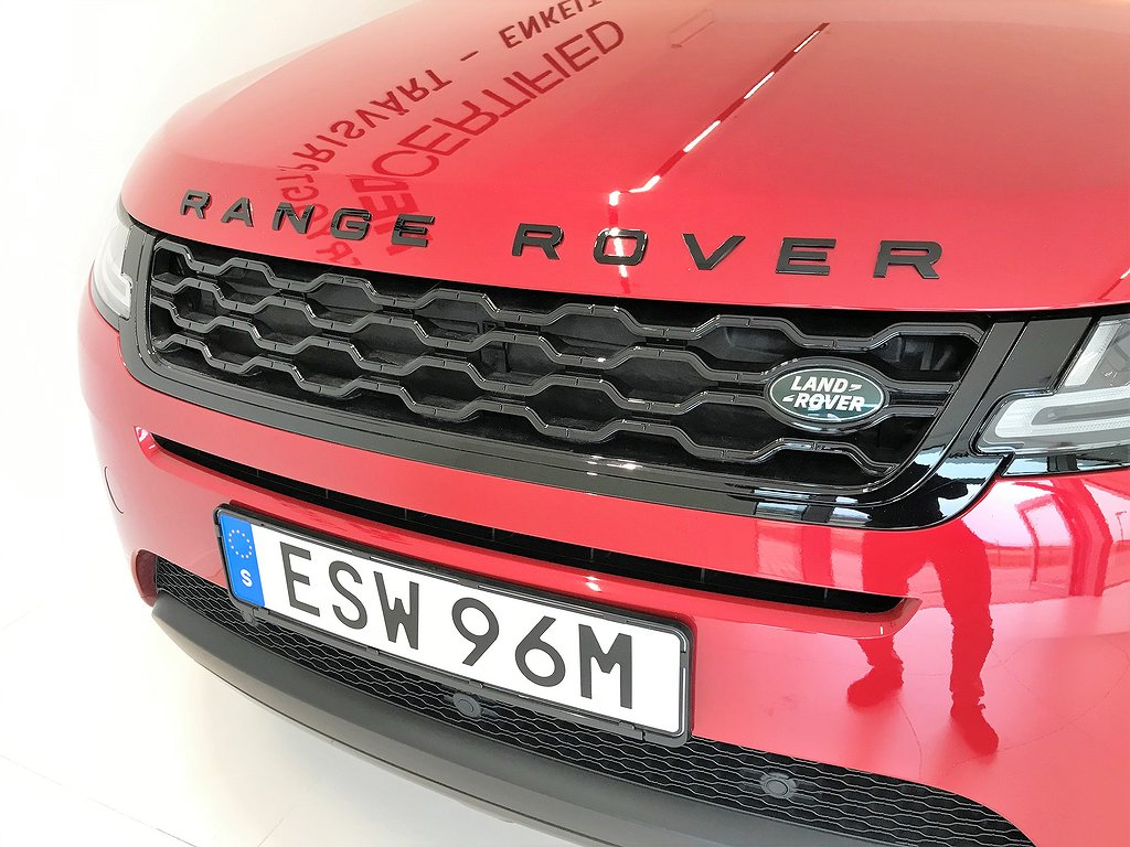 Land Rover Range Rover Evoque P200 AWD 200hk / Panorama / Black Pack