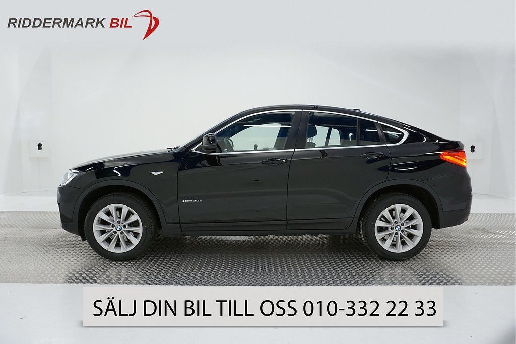 BMW X4 xDrive 20d, F26 (190hk)