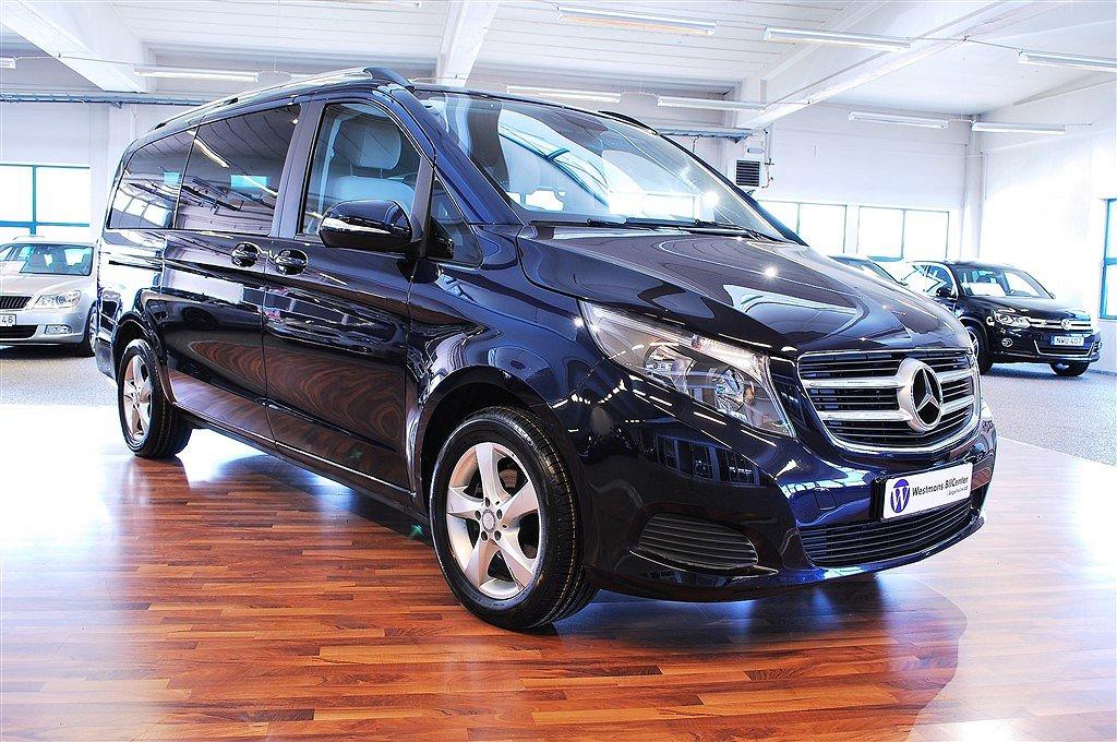 Mercedes-Benz V 220 CDI 163 hk 7G-Tronic Plus *Drag*Värmare*Navi*