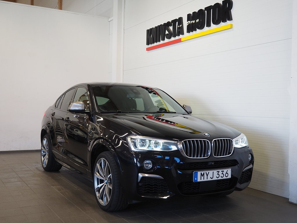 BMW X4 M40i xDrive Aut 360hk M-Sport Drag | Se Utr | 2016