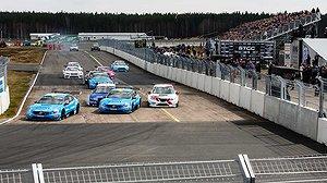 Volvo-dominans i STCC-premiären