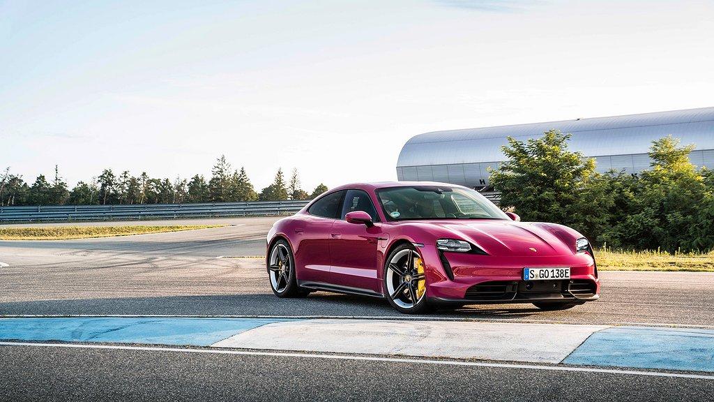 Porsche Taycan årsmodell 2022