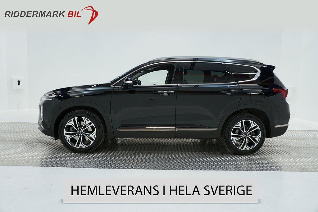 Hyundai Santa Fe 4WD 200hk Premium 360°K HuD 1-Äga *Se Spec*