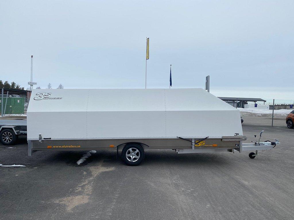 3S S530x200 1300kg Vit Kåpa