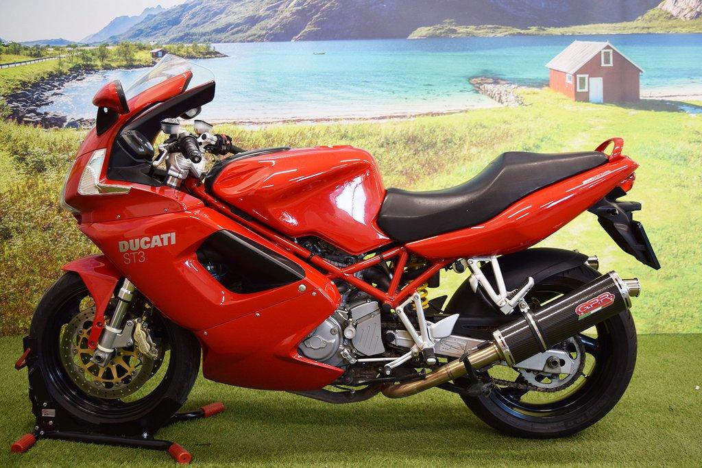 Ducati St3 1000 CC  Sport Touring  Packväskor