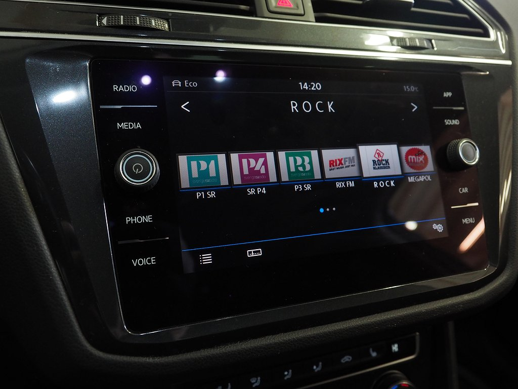 Volkswagen Tiguan 2.0 TDI 4M Aut 190hk R-Line Drag D-värm 2018