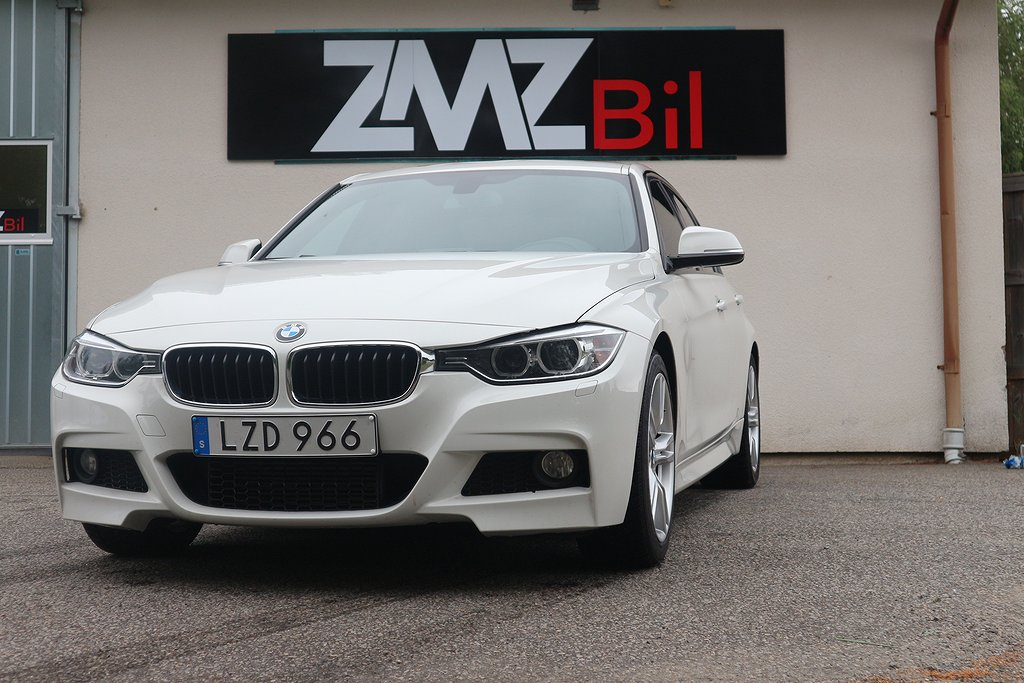 BMW 318 d Sedan M Sport, Blue Performance Euro 6 143hk